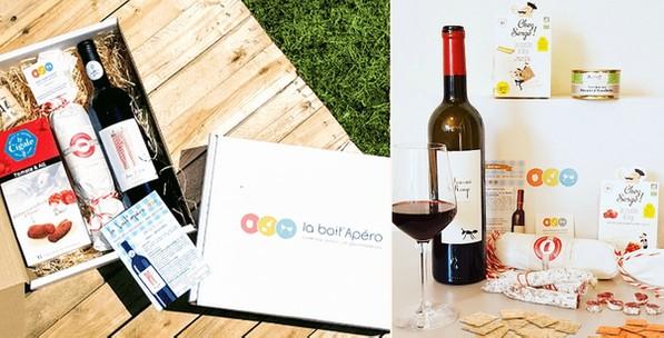 liste de box mensuelles par abonnement : la boît'apéro box mensuelle par abonnement apéro gourmandises food et vin