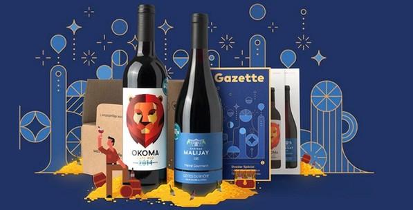 liste de box mensuelles par abonnement : le petit ballon box mensuelle par abonnement de vin