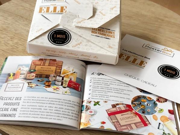 La Master Box pour faire plaisir sans se tromper avec une liste de box mensuelles par abonnement à choisir