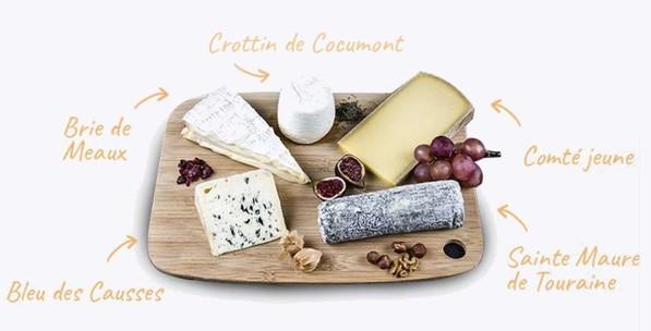 la boîte du fromager box mensuelle par abonnement de fromage food cuisine gourmand