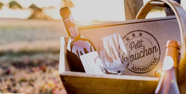 LISTE DE BOX MENSUELLES : petit bouchon box mensuelle par abonnement de vin bio