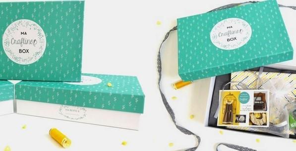 liste de box mensuelles par abonnement : ma craftine box box mensuelle couture do it yourself